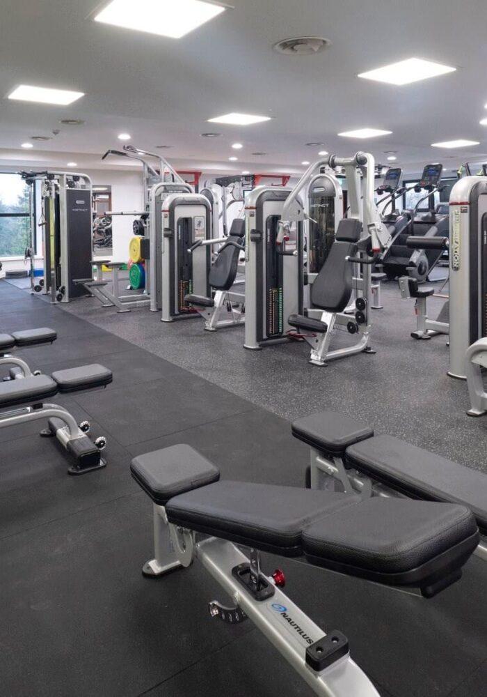 Dungannon Lesiure Centre Refurbishment Works Fitness Suite