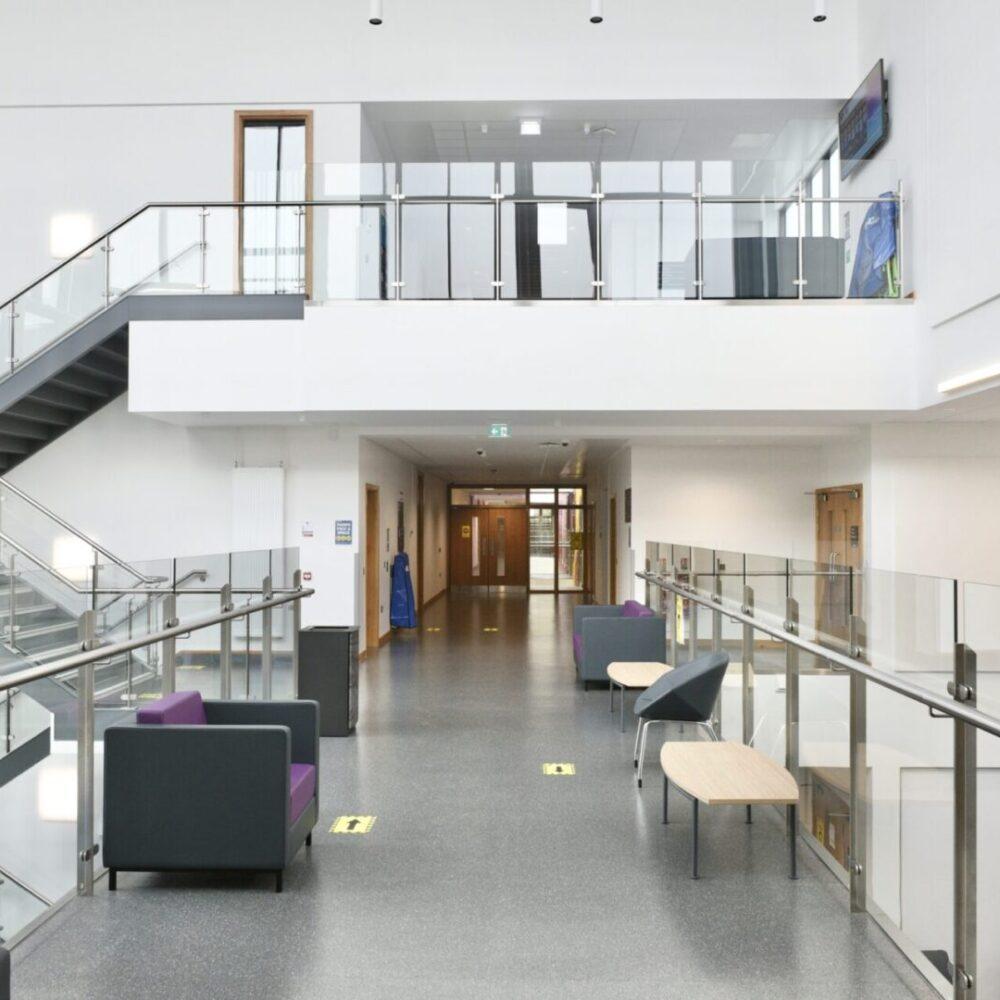 src upper foyer